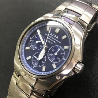セイコー(SEIKO)のセイコーアルバ 腕時計 メンズ ソーラー (腕時計(アナログ))