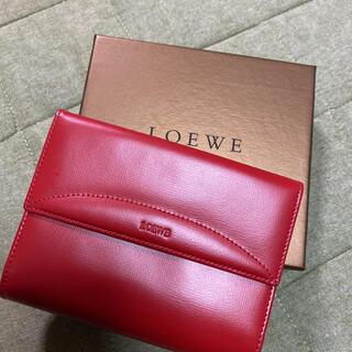 ロエベ(LOEWE)のloewe 二つ折り財布 新品(財布)