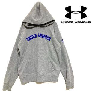 UNDER ARMOUR - 【美品】UNDER ARMOUR パーカー アンダーアーマー 刺繍ロゴ 野球