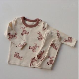 【ひな祭りsale 3/3まで】韓国服 うさぎ パジャマ ルームウェア