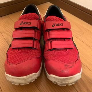asics - 【送料込】ASICS安全靴 ウィンジョブCP202 クラシックレッド×ブラック