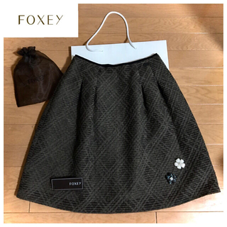 "FOXEY - FOXEY BOUTIQUE  Skirt ""TAVE"" 38 美品"