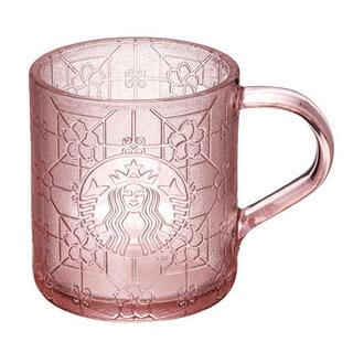 Starbucks Coffee - 台湾 スターバックス 桜 春 グラスマグカップ ピンク