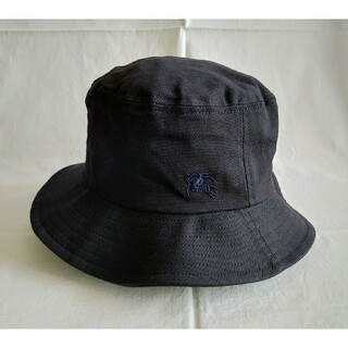 BURBERRY - 【未使用】Burberry 帽子 コットン100%  Mサイズ
