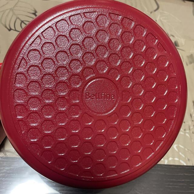 LE CREUSET(ルクルーゼ)のブルフィーナ 鍋 インテリア/住まい/日用品のキッチン/食器(鍋/フライパン)の商品写真