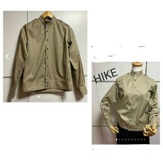 ハイク(HYKE)のHIKE ハイク ミリタリーシャツ スタンドカラーシャツ(シャツ/ブラウス(長袖/七分))