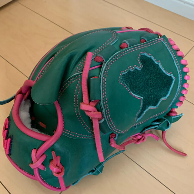 グラブワークス プロステアハイド 硬式 軟式 グローブ ピッチャー用 スポーツ/アウトドアの野球(グローブ)の商品写真
