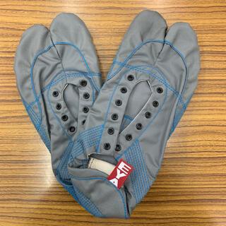 【無敵】伝統職人の匠技が創り出すランニング足袋 グレー29.0cm 箱なし発送(シューズ)