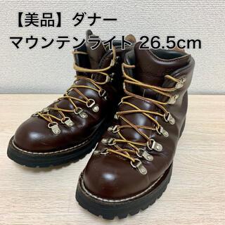 Danner - 【美品】ダナー マウンテンライト 26.5cm(US8.5) ブラウン ブーツ