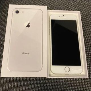 アイフォーン(iPhone)のiPhone 8 silver 64GB SIMフリー(スマートフォン本体)