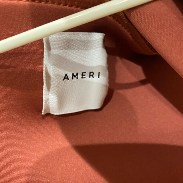 Ameri VINTAGE(アメリヴィンテージ)のアメリヴィンテージ ボンディングパーカー ステッチ ピンク レディースのトップス(パーカー)の商品写真