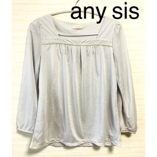 anySiS - エニィスィス any sis カットソー ブラウス M
