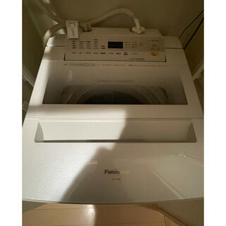 Panasonic - パナソニック 全自動洗濯機 白 保証期間内