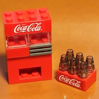 Lego - レゴ★コカ・コーラ自動販売機 オリジナルアレンジ 美品 超人気 残少