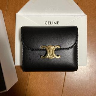 celine - セリーヌ 新品同様 スモールフラップウォレット トリオンフ 財布