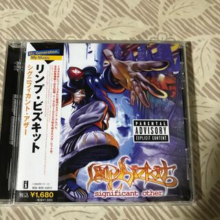 シグニフィカント・アザー リンプ・ビズキットCD(ポップス/ロック(洋楽))