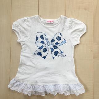 mezzo piano - メゾピアノ女の子トップス 半袖Tシャツ 120