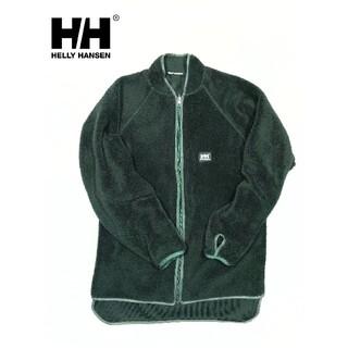 ヘリーハンセン(HELLY HANSEN)のヘリーハンセン リバーシブルフリース グリーン 深緑(ブルゾン)