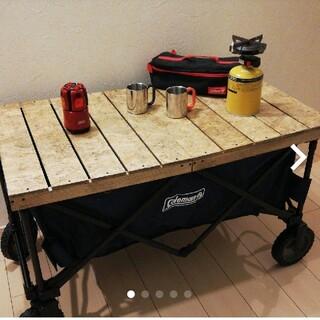 Colemanアウトドアワゴン用折り畳みテーブル(テーブル/チェア)