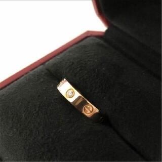 Cartier - カルティエリング ダイヤ ピンクゴールド✨美品✨ 13