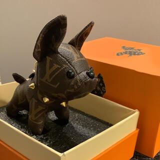 ルイヴィトン(LOUIS VUITTON)のフレンチブルドッグ 犬 バッグチャーム キーホルダー(キーホルダー)