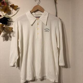 エクストララージ(XLARGE)のXLARGE 七分袖ポロシャツ(ポロシャツ)