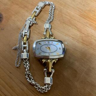 アガット  15周年記念 ビジューウォッチ ダイヤ4P 腕時計