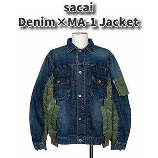 sacai - sacai Denim MA-1 Jacket 20AW デニム ジャケット