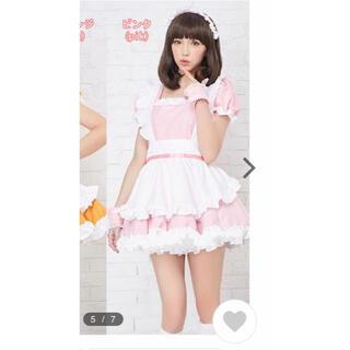 ボディライン(BODYLINE)のBODYLINE メイド服 ピンク (衣装)