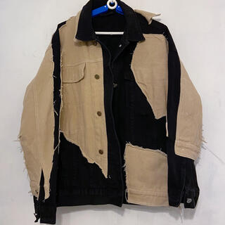 COMME des GARCONS - ジャケット Gジャン ブルゾン 切り返し つぎはぎ デザイナー