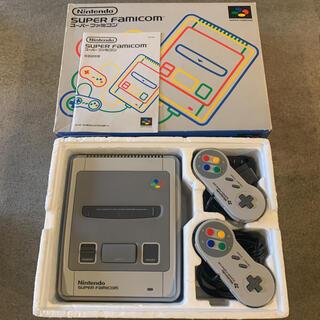スーパーファミコン - 【美品】Nintendo ニンテンドー 初代 スーパーファミコン