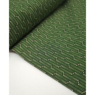 グリーン系細かい柄キルターズクラブ綿100%幅約110cm×2m