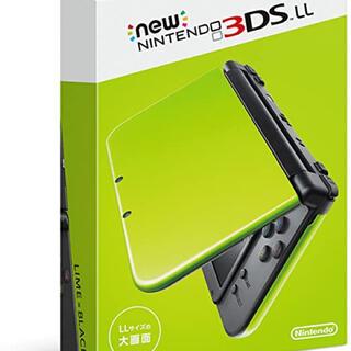 ニンテンドー3DS(ニンテンドー3DS)のNew Nintendo 3DS LL 本体 & とびだせどうぶつの森(携帯用ゲーム機本体)