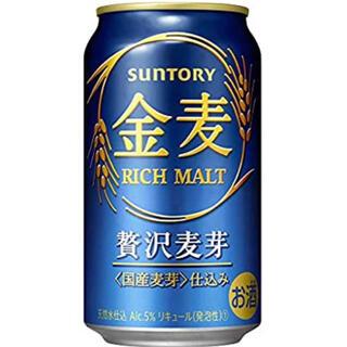 サントリー - 金麦【新ジャンル/第3のビール】新・サントリー 金麦 [ 350ml×24本 ]