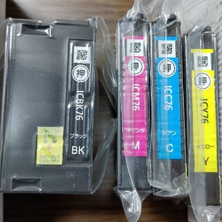 EPSON - EPSONプリンターインク icbk76