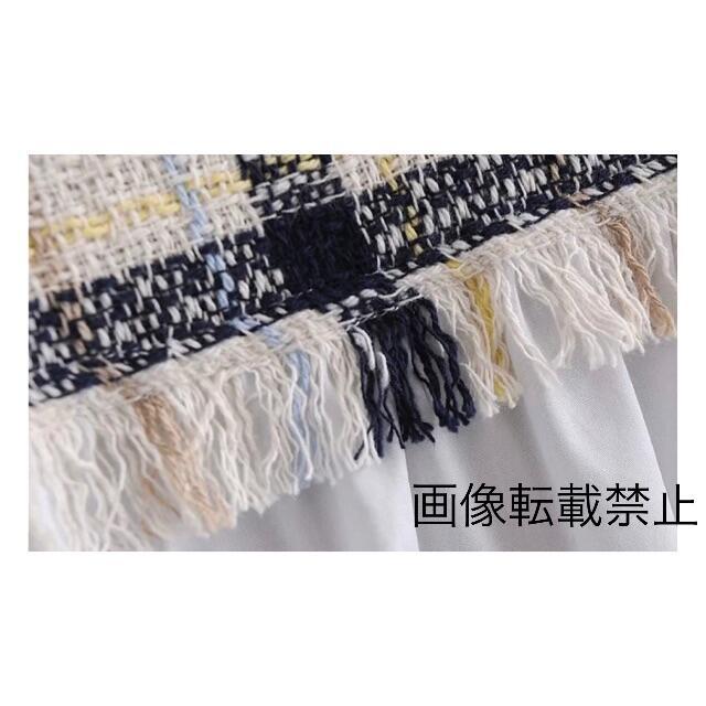 ZARA(ザラ)の🌼春新作💐3630◆チェック柄 切り替え シャツ ブラウス レディースのトップス(シャツ/ブラウス(長袖/七分))の商品写真