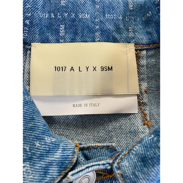 Balenciaga(バレンシアガ)のalyx ロゴデニムジャケット メンズのジャケット/アウター(Gジャン/デニムジャケット)の商品写真