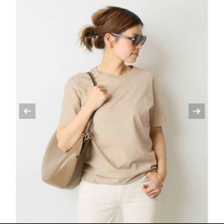 DEUXIEME CLASSE - 新品タグ付き未開封 Deuxieme Classe neat Tシャツ ベージュ
