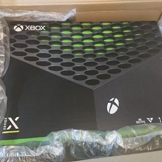 エックスボックス(Xbox)のXbox Series X 本体 新品未使用 早い者勝ち(家庭用ゲーム機本体)