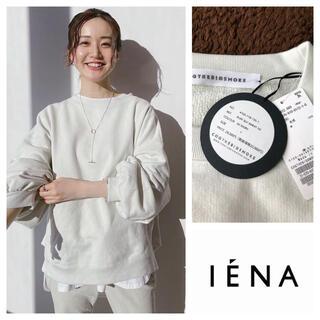 IENA - イエナ 【COGTHEBIGSMOKE】別注パフスリーブスウェット ナチュラル