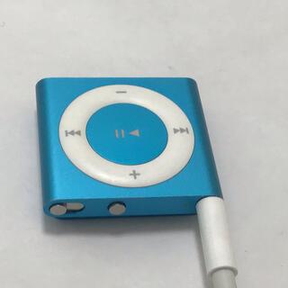 アップル(Apple)のiPod shuffle 4世代 2GB ターコイズブルー(ポータブルプレーヤー)