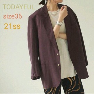 TODAYFUL - 【TODAYFUL】Satin Over Jacket size36