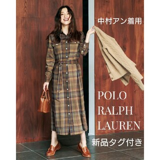 POLO RALPH LAUREN - 新品 POLO RALPH LAUREN 中村アン チェックシャツワンピース