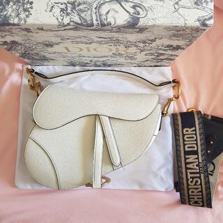 Christian Dior - Christian Dior サドル バック ストラップ付き ショルダーバッグ