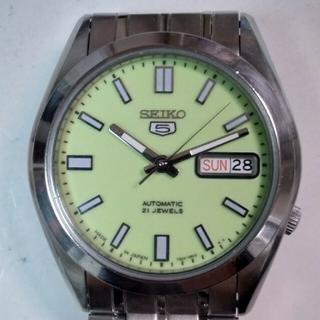 セイコー(SEIKO)のセイコー5自動巻き腕時計(腕時計(アナログ))