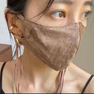 TODAYFUL - todayful Dyed Linen Mask モカ
