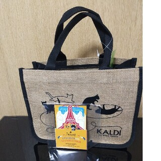 【新品未使用‼️】KALDI猫の日バッグ カレンダー 2021(トートバッグ)