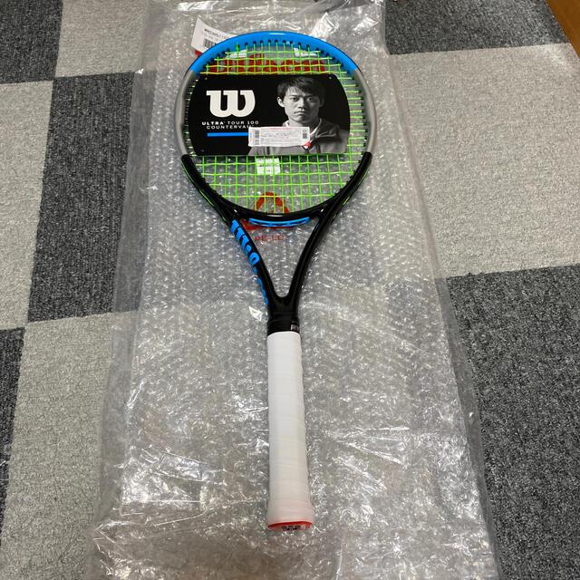 wilson(ウィルソン)のウィルソン ウルトラ ツアー 100 CV  V3.0 グリップ2 スポーツ/アウトドアのテニス(ラケット)の商品写真