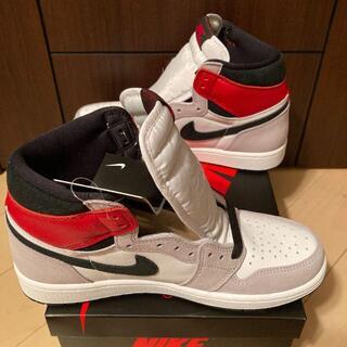 26.5cm NIKE AIR Jordan 1 OG smoke grey(スニーカー)
