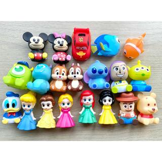 Disney - ●ディズニーキャラクター ソフビィ すくい人形 20個セット